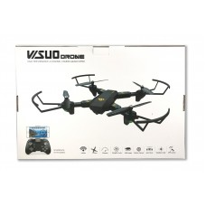 TechComm Visuo C Foldable RC Quadcopter Drone with 0.3MP Wi-Fi Camera   565498785