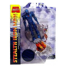 "Marvel Marvel Select Stealth Iron Man 7"" Action Figure   552049590"