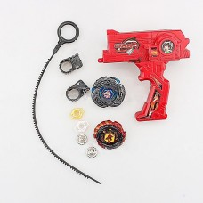 Yosoo Hybrid+ 2 Beyblade Metal Fusion Beyblade Rapidity Fight Masters Set Toy Gift(Red)