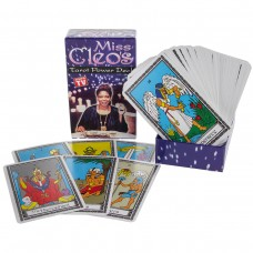 Miss Cleo's Tarot Cards Power Deck Psychic Fortune Telling Seer Seance Seer New