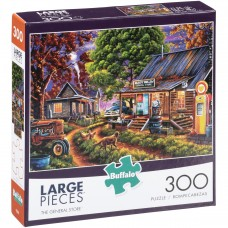 Buffalo™ Large Pieces™ The General Store™ Puzzle 300 pc Box   556562901