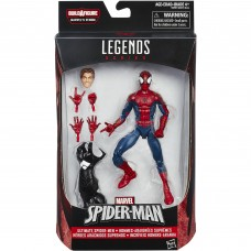 "Marvel Spider-Man 6"" Legends Series Ultimate Spider-Men: Peter Parker   555071023"