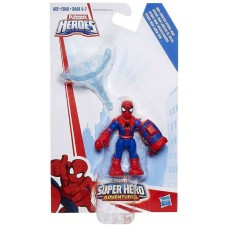 Marvel Super Hero Adventures Web-Shooter Spider-Man Action Figure   554061379