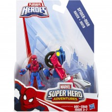 Playskool Heroes Marvel Super Hero Adventures Spider-Man Figure with Web Racer Vehicle   554728115