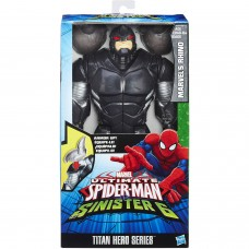 Ultimate Spider-Man vs. The Sinister Six: Titan Hero Series Marvel's Rhino with Gear   555066769