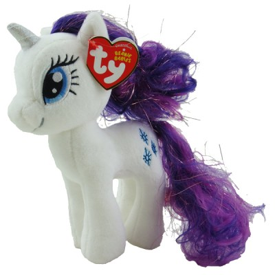 Ty Large Rarity My Little Pony Beanie Babies Stuffed Animal Plush Toy, 16""