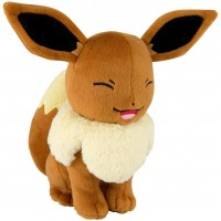 Pokemon Eevee Plush [Squinting]