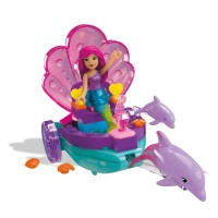 Mega Bloks Barbie Mermaid Carriage Playset   555747494