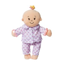 Manhattan Toy Wee Baby Stella Sweet Dreams Bassinet and Story Time Pajamas - Baby Doll Accessories   570595321