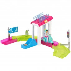 Barbie On The Go Post Office Playset   564215301