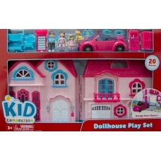 Kid Connection Doll House With Vehicle   563141422