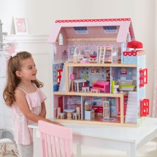 KidKraft Chelsea Doll Cottage with 16 accessories included   552272127
