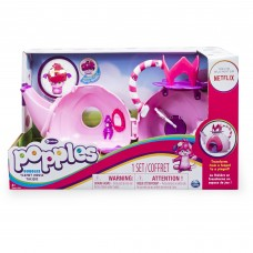 Popples, Bubbles Transforming Teapot House Playset, by Spin Master   555662526