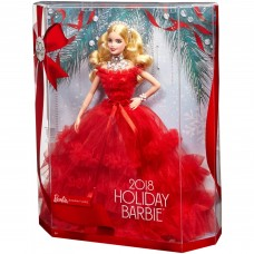 2018 Holiday Barbie Doll   569045969