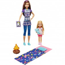 Barbie Camping Fun Skipper & Chelsea Dolls with Smores & Campfire Accessories   564546174
