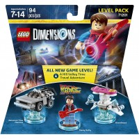 Back to the Future Level Pack - LEGO Dimensions   569668032