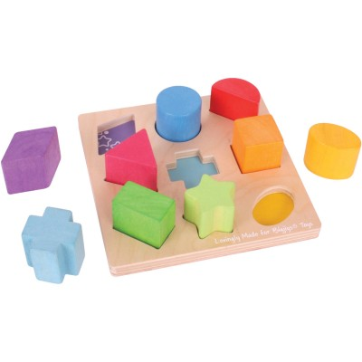BigJigs Baby My First First Shapes Sorter   554610034
