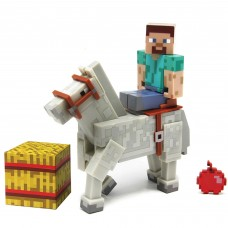 Minecraft Steve with Horse Action Figure   553830056