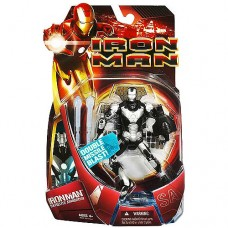 Iron Man Iron Man Movie Satellite Armor Iron Man Action Figure [Silver Armor]