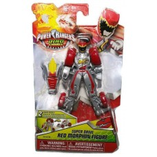 Power Rangers Dino Charge Super Drive Red Morphin Figure