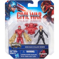 Marvel Captain America: Civil War Iron Man & Black Widow   555066784